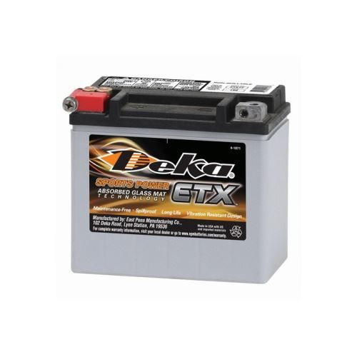 Deka ETX12 Power Sport Batterie, 10Ah