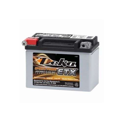 Deka ETX9 Power Sport Batterie, 8Ah